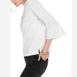 SCOTCH & SODA Ruffle Bell Sleeve T-shirt Top Tee